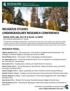 Undergrad Research Conference