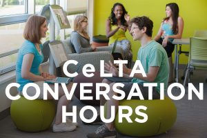 ESL Conversation Hour @ CeLTA B135 Wells Hall