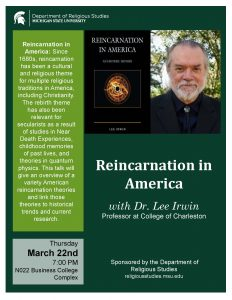 Reincarnation in America @ N022 Business College Complex