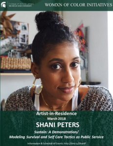 Open Door Project Hours with Shani Peters @ Kresge Art Center Conference Room 126A | East Lansing | Michigan | United States