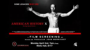 American History X Screening @ B117 Wells Hall | East Lansing | Michigan | United States