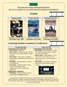 The 2018 FilmFest & Locating Muslim Cinema(s) Conference @ International Center, Room 303 | East Lansing | Michigan | United States