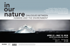 Curatorial Practices Exhibition - In Our Nature: Dialogue between Humans and the Environment