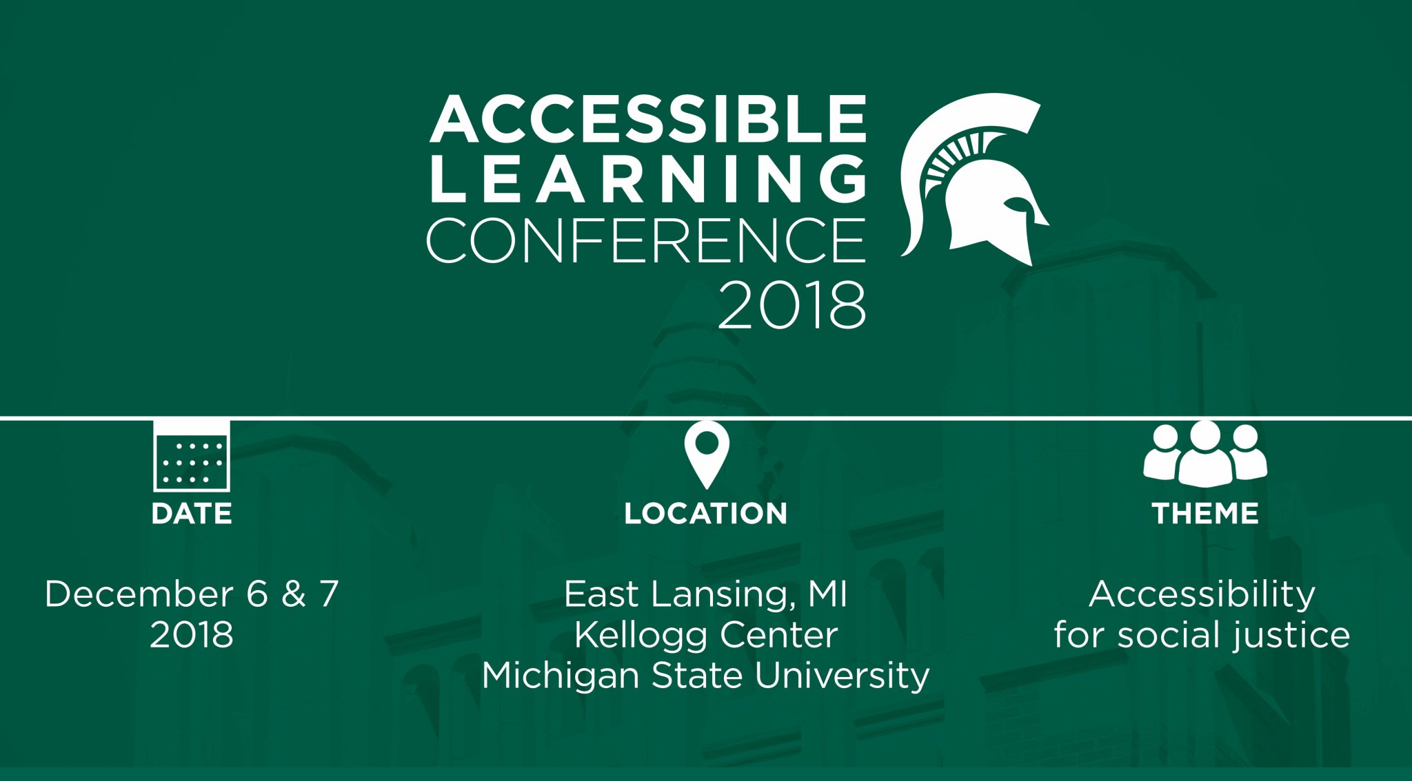 Accessible Learning Conference @ Kellogg Center | East Lansing | Michigan | United States