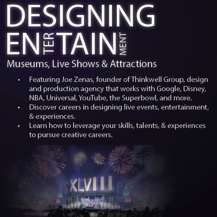 Designing Entertainment: Museums, Live Shows, and Attractions @ Cook Recital Hall - Music Building | East Lansing | Michigan | United States