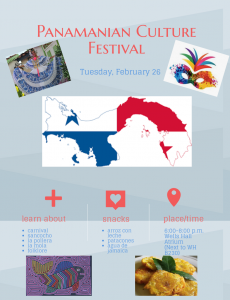Panamanian Culture Festival @ Wells Hall Atrium | East Lansing | Michigan | United States