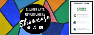 Summer Arts Opportunities Showcase 2019 @ MSU Auditorium
