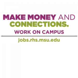 MSU RHS Student Hiring Fair @ MSU Union | East Lansing | Michigan | United States