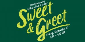 Arts & Letters Homecoming Sweet & Greet @ Summer Circle Courtyard