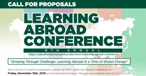Learning Abroad Conference: Call for Proposals