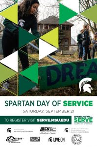 Spartan Day of Service