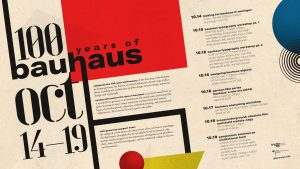 100 Years of Bauhaus Celebration