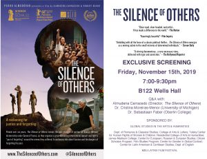 Film screening: The Silence of Others - GSAH Symposium @ B122 Wells Hall | East Lansing | Michigan | United States