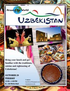 Around the World with FLTAs: Uzbekistan Event @ B-342 Wells Hall | East Lansing | Michigan | United States