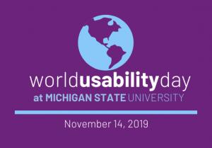 World Usability Day @ MSU Union