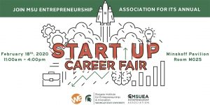Startup Career Fair @ Russell Palmer Career Management Center (Broad College of Business)