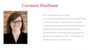 Alumni Profile: Meet Carmen Durham
