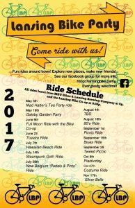 Lansing Bike Party (Guided Ride) @ Summer Circle Theatre   East Lansing   Michigan   United States