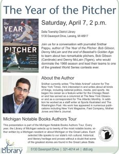 Year of the Pitcher @ Delta Township District Library   Lansing   Michigan   United States