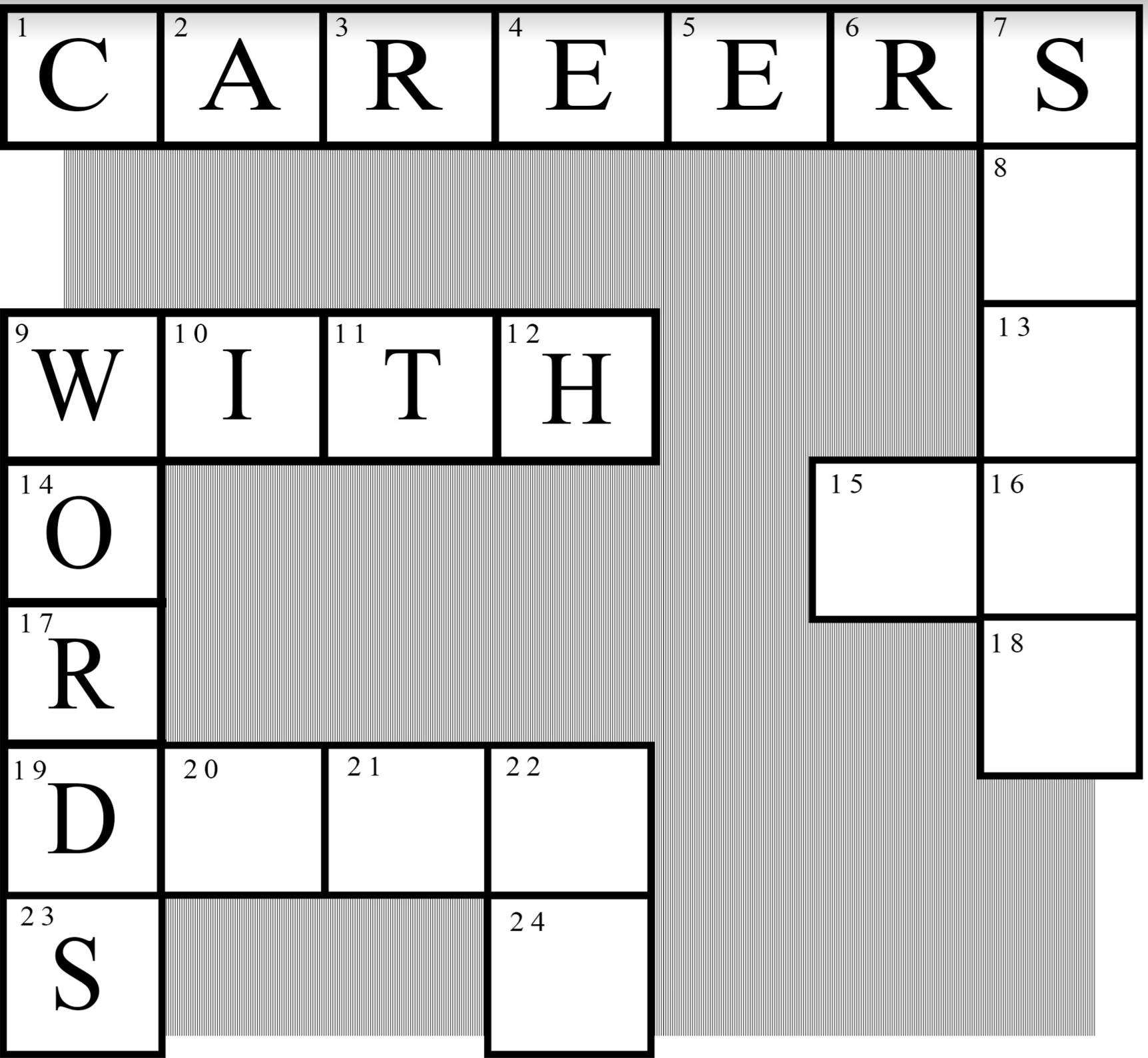 Careers With Words @ Student Services Building, Room 113