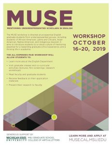 MUSE Scholars Daily Panels @ Wells Hall B342 | East Lansing | Michigan | United States
