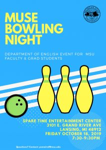 MUSE Bowling Night @ Spare Time Entertainment Center | Lansing | Michigan | United States