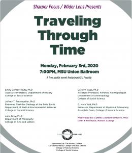 Traveling Through Time @ MSU Union Ballroom | East Lansing | Michigan | United States