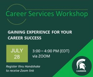 Summer Series | Sharing your Story: Writing Resumes & Cover Letters @ Zoom