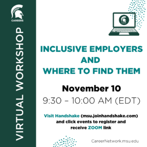 CSN Fall Series | Inclusive Employers and Where to Find Them