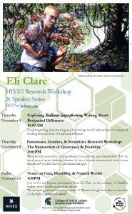 HIVES: Eli Clare
