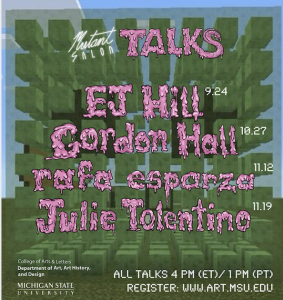 EJ Hill Mutant Salon Talk @ Virtual on Zoom
