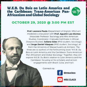 W.E.B. Du Bois on Latin America and the Caribbean - Live Event