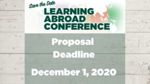 MSU 2021 Learning Abroad Conference Webinar Series - Call for Proposals!