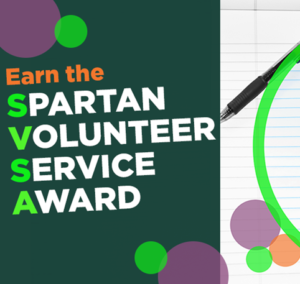 The Spartan Volunteer Service Award