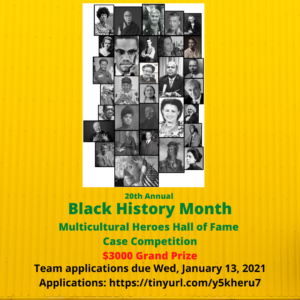 Multicultural Heroes Hall of Fame Case Competition-Applications Open!