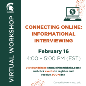 Connecting Online: Informational Interviewing