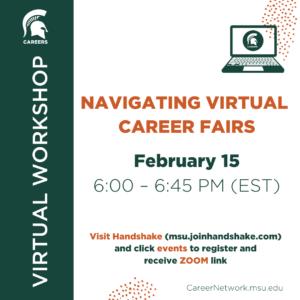 Navigating Virtual Career Fairs