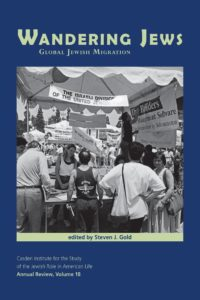 Panel followed by book discussion of Wandering Jews: Global Jewish Migration