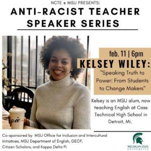 Anti-Racist Teacher Speaker Series