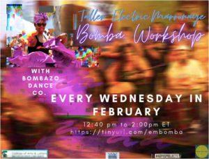 Afro-Puerto Rican Bomba Workshop