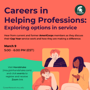 CSN Career Exposure Series | Careers in Helping Professions: Exploring Options in Service