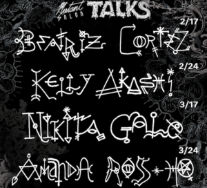 Beatriz Cortez Mutant Salon Talk Hosted by Young Joon Kwak @ Virtual on Zoom