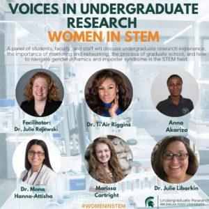 Voices in Undergraduate Research– Women in STEM Research