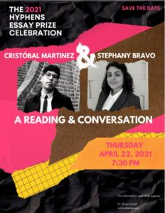 Hyphens Essay Prize: Reading & Conversation