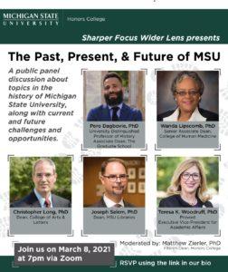 Sharper Focus Wider Lens Panel Discussion — The Past, Present, & Future of MSU