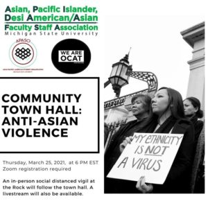 Town Hall Discussion about Anti-Asian Violence
