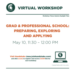 CSN Summer Series | Grad & Professional School: Preparing, Exploring, and Applying