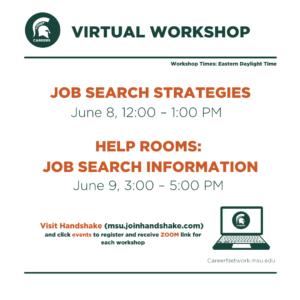 CSN Summer Series - Job Search Strategies