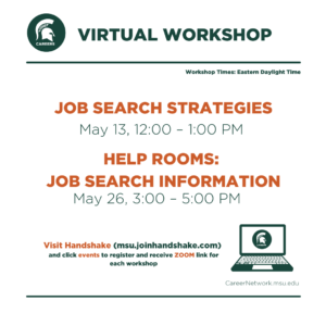 CSN Spring Series | Job Search Help Room