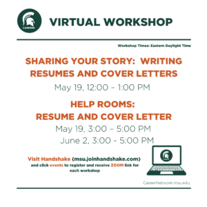 CSN Summer Series | Sharing Your Story: Writing Resumes & Cover Letters